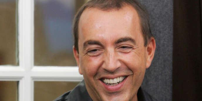 L'animateur Jean-Marc Morandini, le 5 septembre 2006 à Paris.