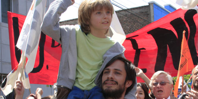 Gabriel Garcia Bernal dans le film chilien, américain et mexicain de Pablo Larrain,