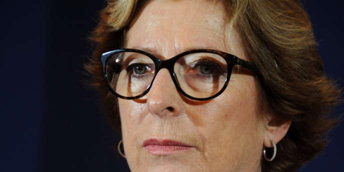 La secrétaire d'état à l'enseignement supérieur, Geneviève Fioraso, en février 2013.