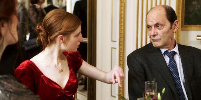 Agathe Bonitzer et Jean-Pierre Bacri dans le film français d'Agnès Jaoui,
