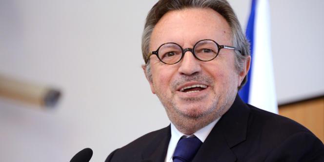 Jean-Noël Guérini, le 30 janvier 2013, à Marseille.