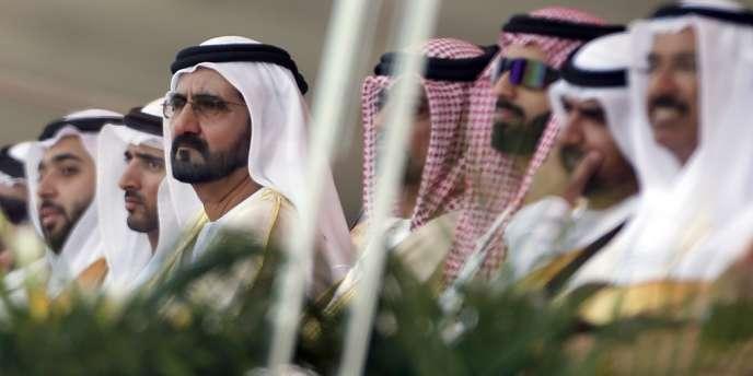 Le Premier ministre emirati Sheikh Mohammed bin Rashid al-Maktoum, le 17 février à Abou Dhabi.