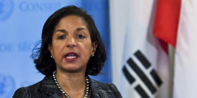 Susan Rice, ambassadrice américaine à l'ONU, le 12 février 2013 à New York.
