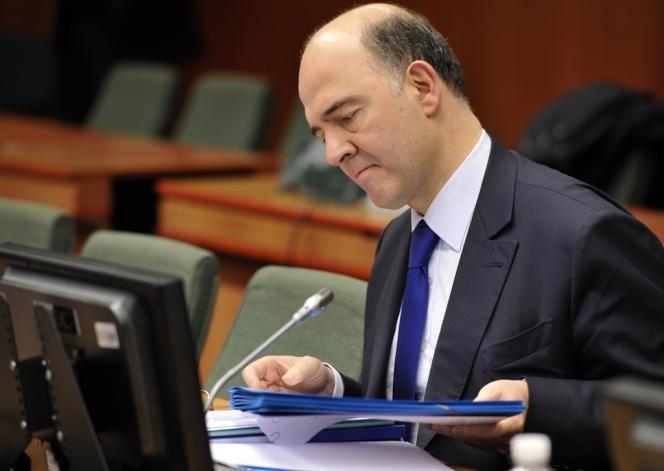 Pierre Moscovici, le 4 mars, à Bruxelles.
