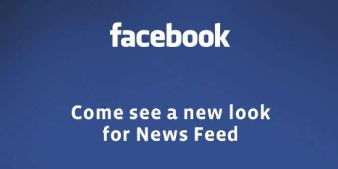 L'invitation envoyée par Facebook pour la présentation du nouveau fil d'actualité, le 7 mars.