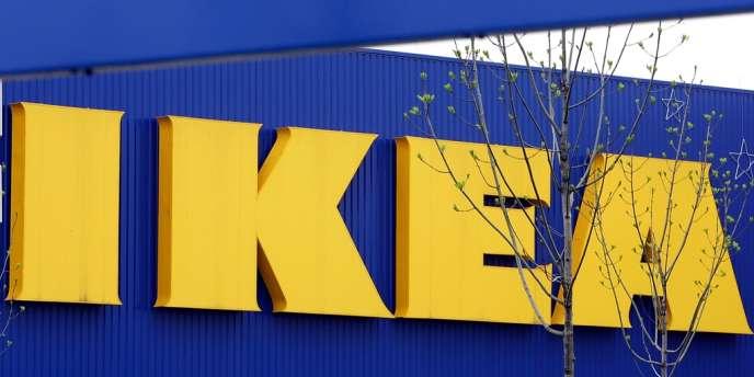 Une enseigne Ikea en Allemagne, le 27 avril 2006.