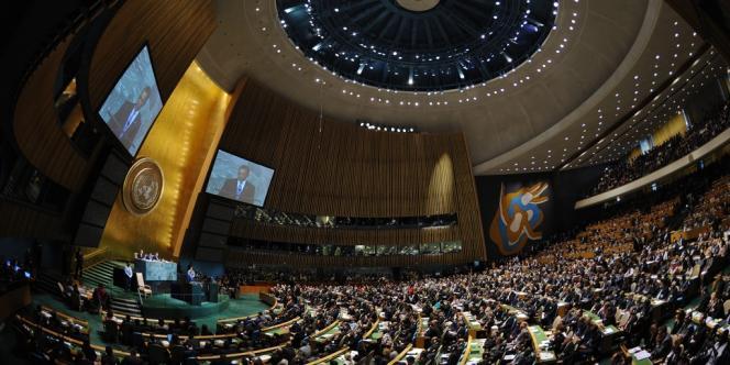 L'assemblée générale de l'ONU, en septembre 2011.