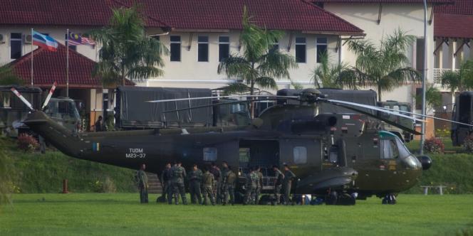 L'armée malaisienne a attaqué par les airs et la terre le commando armé arrivé mi-février sur la partie malaisienne de Bornéo pour reprendre l'Etat de Sabah.