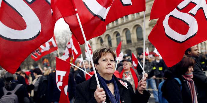 La manifestation du 5 mars contre l'accord emploi n'a que faiblement mobilisé.