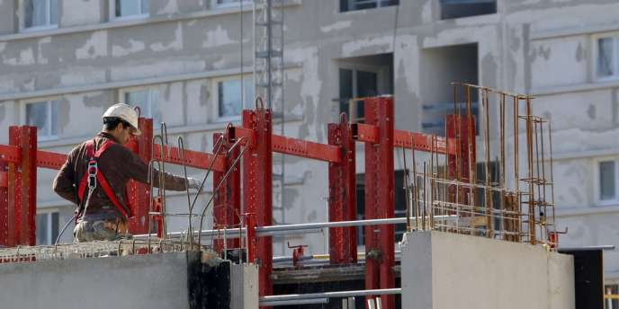 Construction d'un immeuble à Marseille en février 2013.