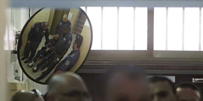 Dans une prison israélienne, le 21 février.