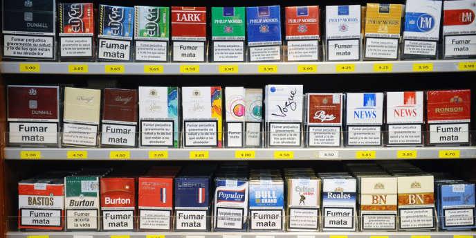En France, une cigarette sur cinq n'est pas achetée dans le réseau officiel.