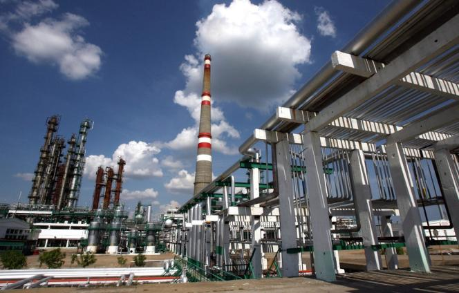 La raffinerie modernisée de Cienfuegos, à Cuba.