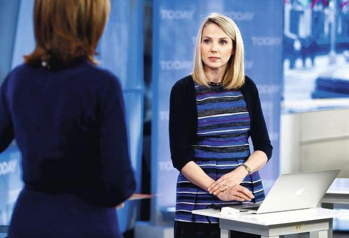 Nommée à la tête de Yahoo! l'été dernier, Marissa Mayer, était vue comme un modèle au sein de la très machiste Silicon Valley -