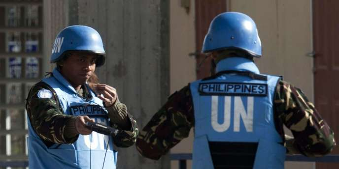 Les 21 observateurs philippins des Nations unies sont détenus par des rebelles syriens depuis mercredi.