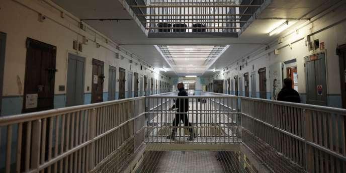 A l'intérieur de la prison des Baumettes en mars 2013.