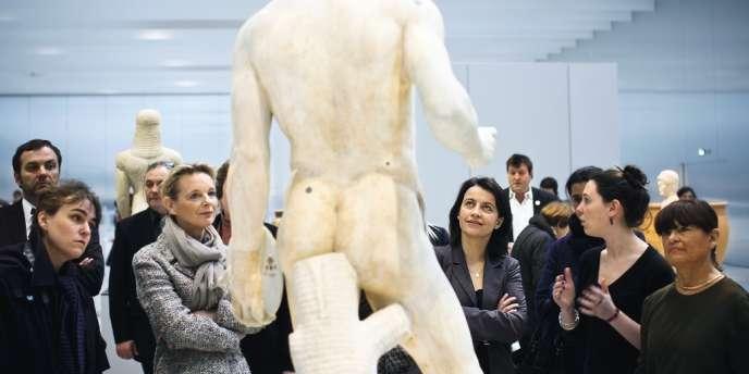 La ministre du logement au Louvre-Lens, le 28 janvier dernier.