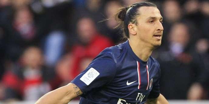 Zlatan Ibrahimovic, le 9 mars à Paris.