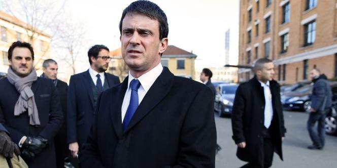 Manuel Valls, le 21 février 2013.