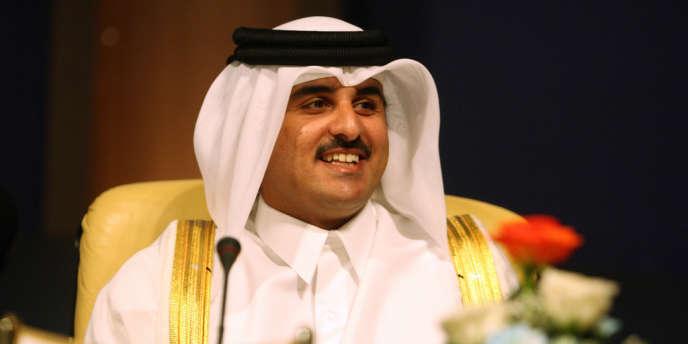 Tamim Ben Hamad Al-Thani, à Doha, le 27 mai 2007.