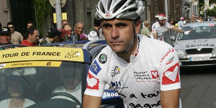 Laurent Jalabert, le 20 juillet 2007.