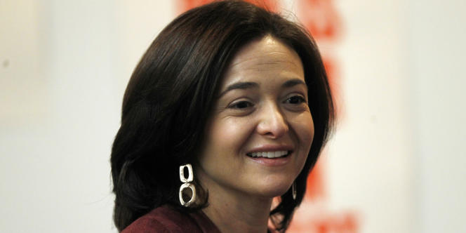 Sheryl Sandberg, le 15 janvier.