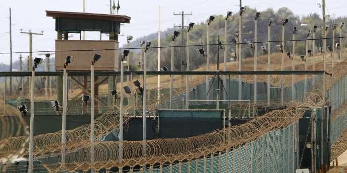 Les clôtures de la prison de Guantanamo, le 6 mars 2013.