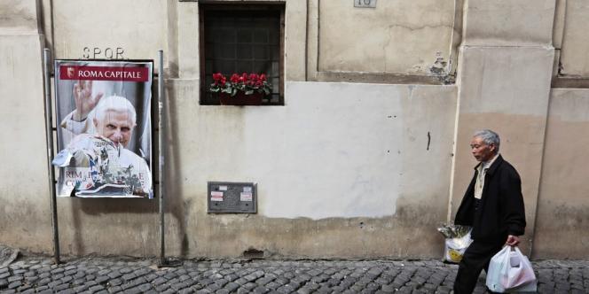 Le 10 mars, à Rome.