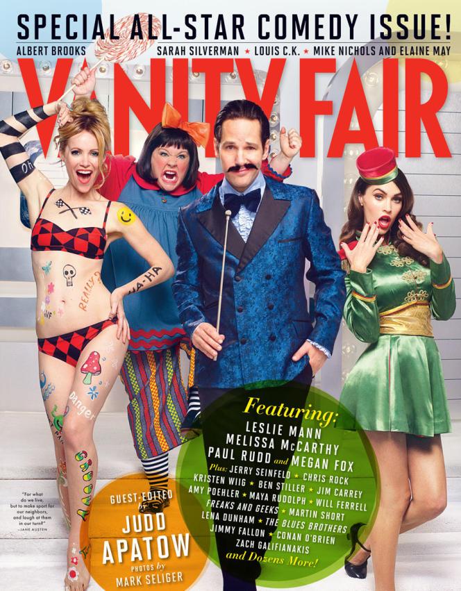 Couverture du numéro de janvier 2013 du mensuel américain
