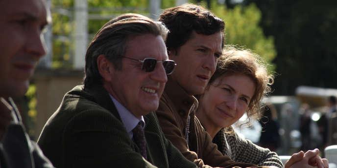Daniel Auteuil, Guillaume Canet et Marie Bunel dans le film français de Christian Duguay,