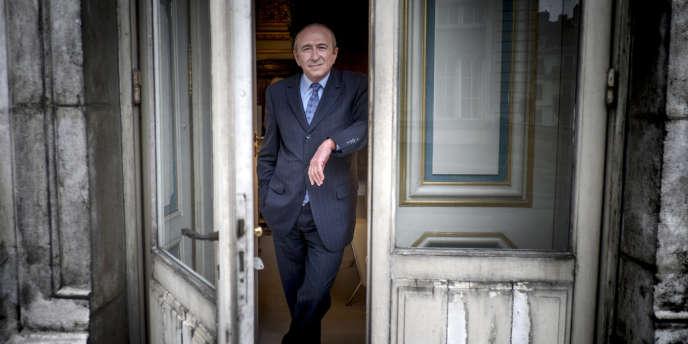 Gérard Collomb, sénateur et maire de Lyon, le 8 mars.
