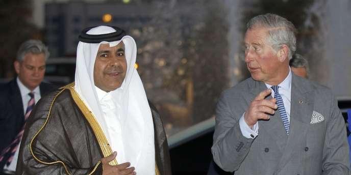 Le Prince Charles était en visite au Qatar mercredi 13 mars.