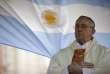 Le futur pape François, à Buenos Aires, en août 2009.