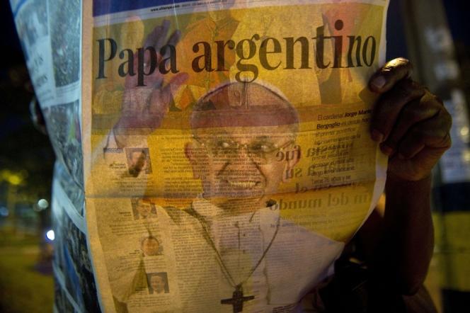 Une d'un quotidien colombien, le 13 mars.