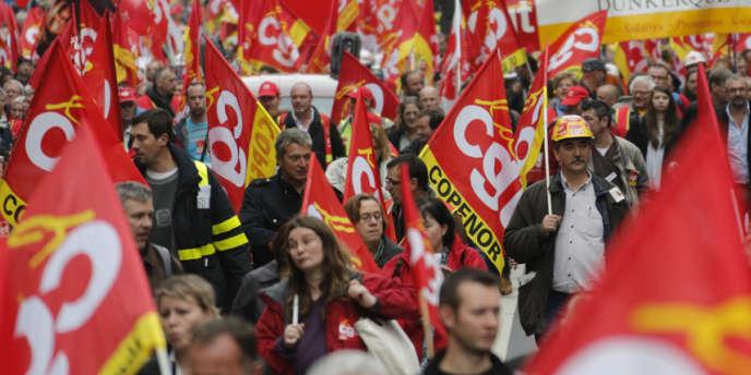 Pour la deuxième fois d'affilée, la CGT a enregistré un net recul à l'issue des élections professionnelles organisées jeudi 21 novembre dans son bastion des industries électriques et gazières.