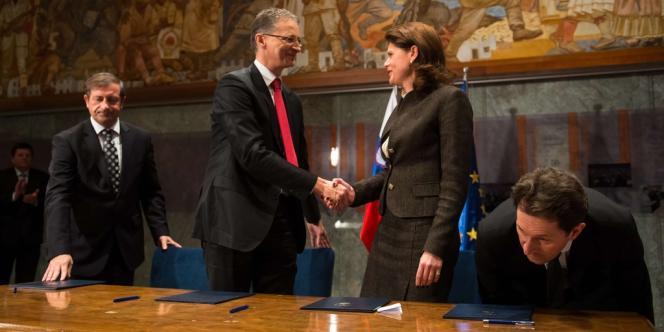 Chef du gouvernement slovène, Alenka Bratusek a été désignée à ce poste à la fin du mois de février. Elle a déclaré, mercredi 27 mars, que