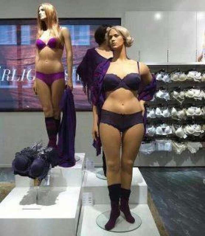 H&M a décidé de promouvoir sa nouvelle collection de lingerie avec des mannequins aux formes généreuses.