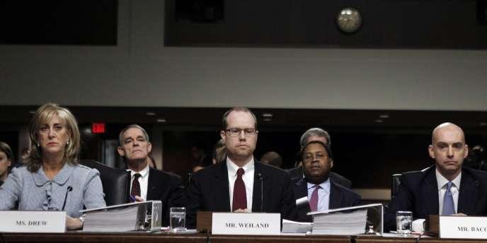 Anciens et actuels responsables de JPMorgan doivent répondre de leurs actes devant une commission d'enquête parlementaire.