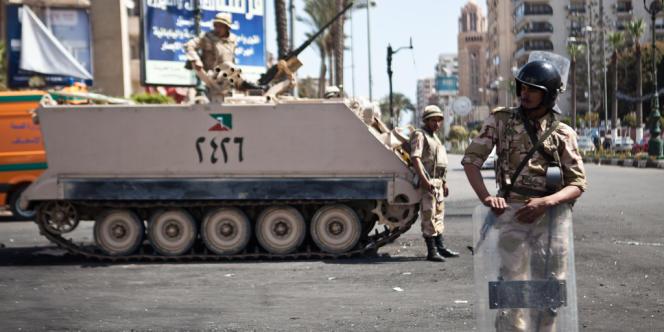 La presse internationale condamne massivement l'intervention de l'armée en Egypte.