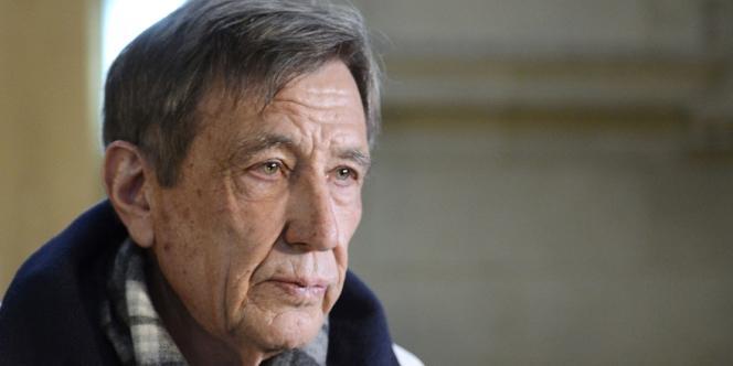 Leonide Kameneff à son arrivée au tribunal le 11 mars, à Paris.
