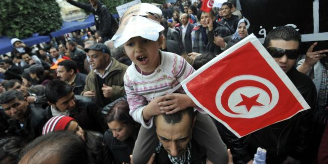 Un rassemblement pour marquer la fin d'un deuil de 40 jours après le meurtre de l'opposant a eu lieu, samedi, à Tunis.