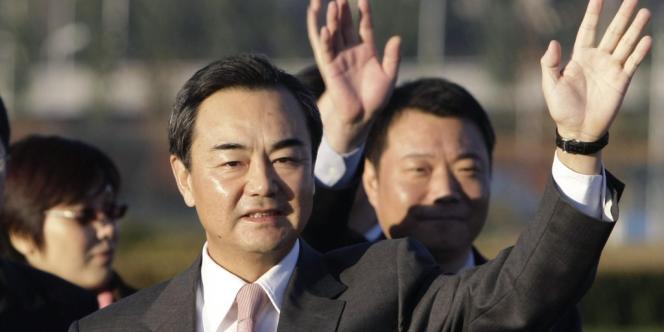 Wang Yi a été nommé ministre des affaires étrangères par les députés chinois, samedi 16 mars.