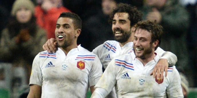 Fofana, Huget et Médard, le 16 mars au Stade de France.
