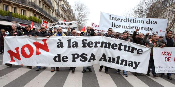 Des militants CGT auraient entravé la veille la tenue d'instances d'information du personnel sur le site du constructeur en Seine-Saint-Denis.