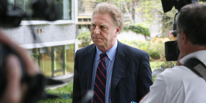Robert Namias, alors directeur de la rédaction de TF1, le 24 avril 2007.