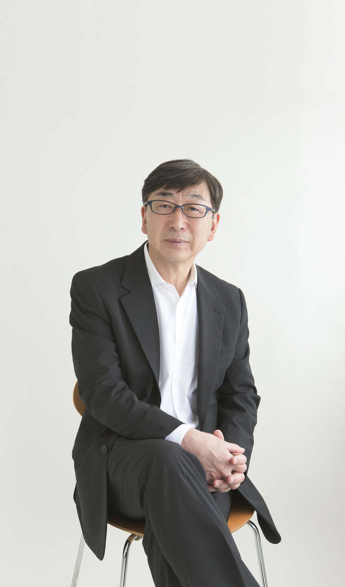 L'architecte japonais Toyo Ito, prix Pritzker 2013.