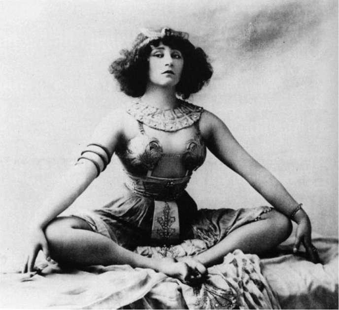 L'écrivaine Colette (1873-1954).