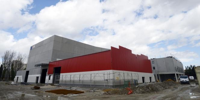 La FabricA, la nouvelle salle en construction à Avignon, le 18 mars 2013.