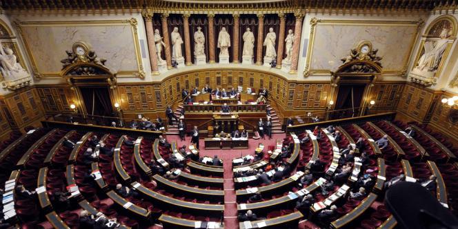 Vue du Sénat, en janvier 2012.