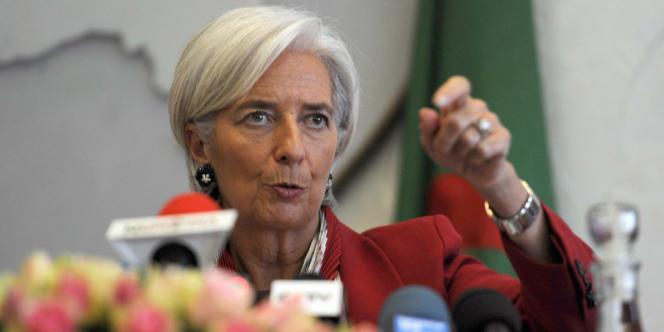 Christine Lagarde, le 13 mars 2013.